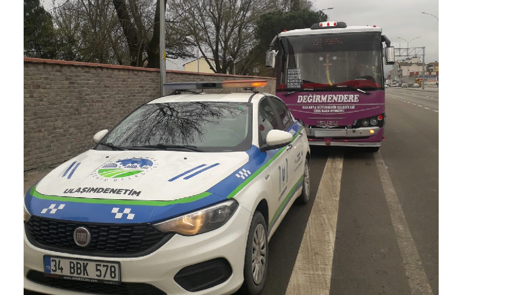 Toplu Taşıma Araçlarına Corona Denetimi