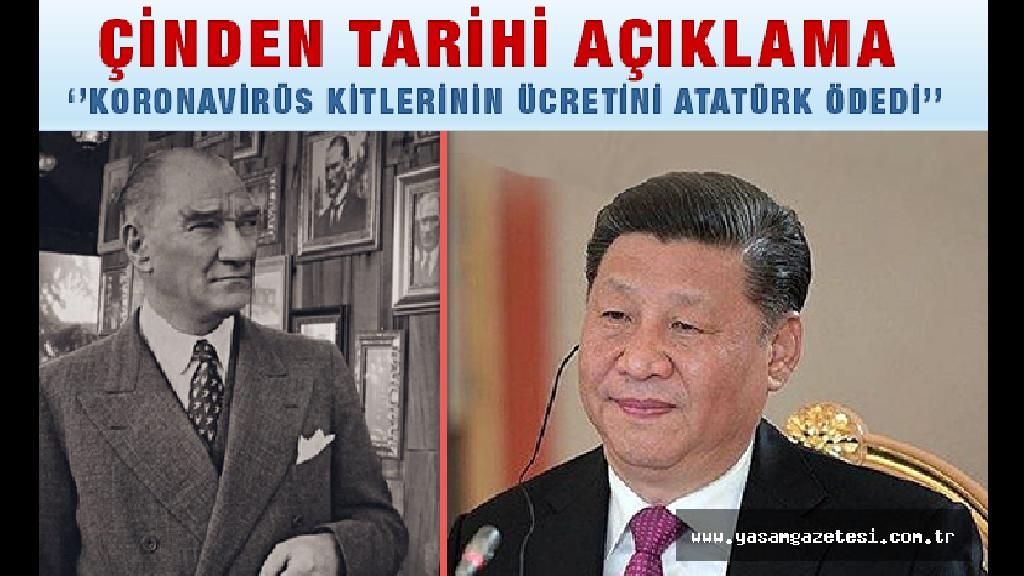 Koronavirüs Kitlerinin Ücretini Atatürk Ödedi