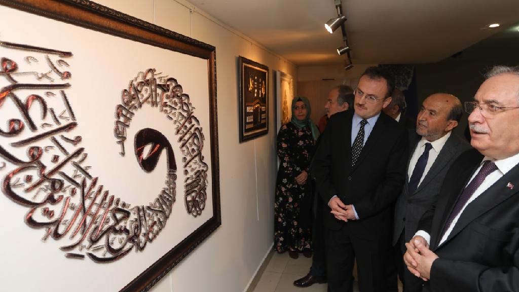 Sanatla Üreten Kadınlar Sergisi Açıldı