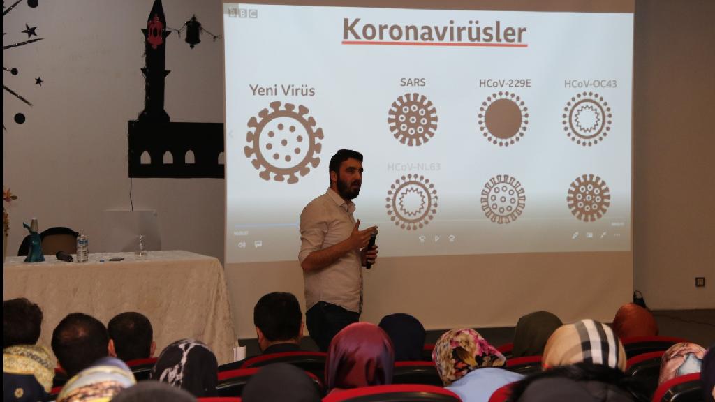 Gençlik ve Spor İl Müdürlüğü Personeline Koronavirüs Eğitimi