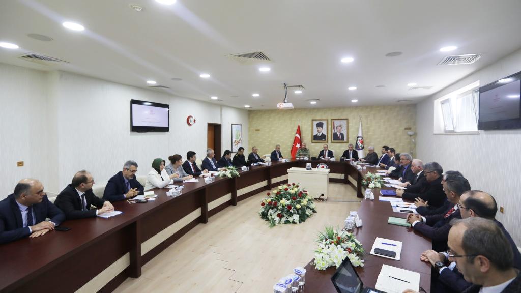 Sakarya İl Koordinasyon Kurulu Toplantısı Gerçekleştirildi