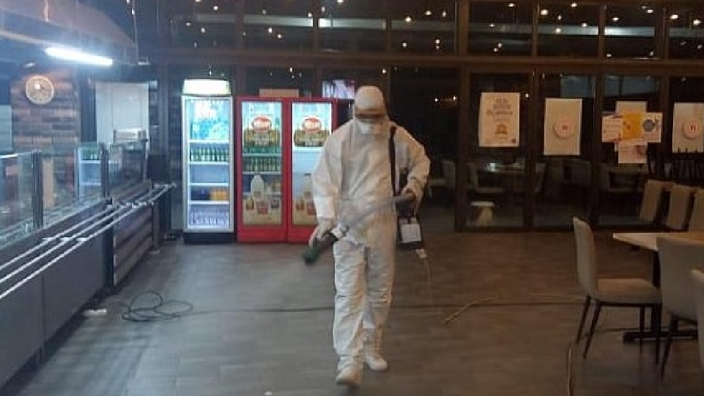 Sakarya'da Tüm Spor Tesisleri Dezenfekte Ediliyor