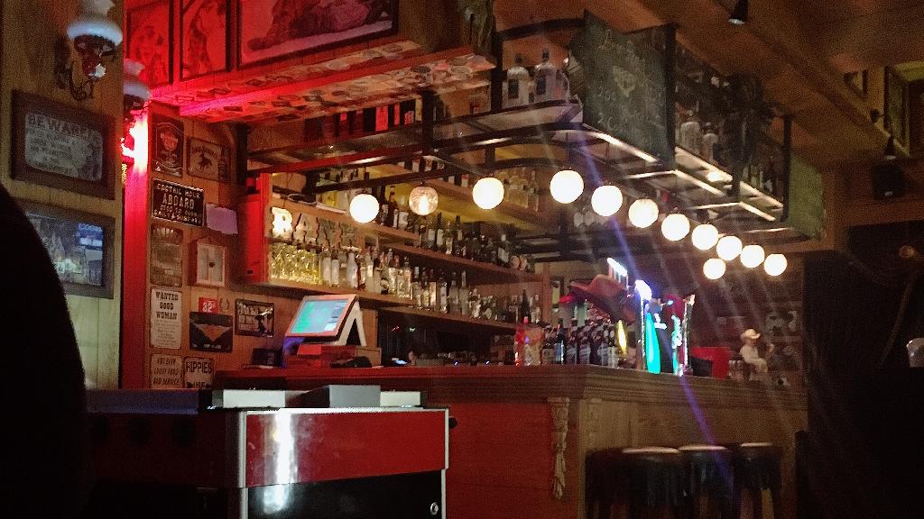 Saloon Sheriff Bar