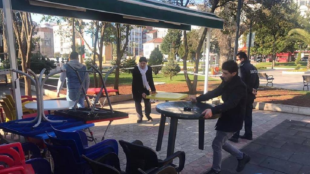Ereğli'de Zabıta Çay Ocaklarını Denetledi