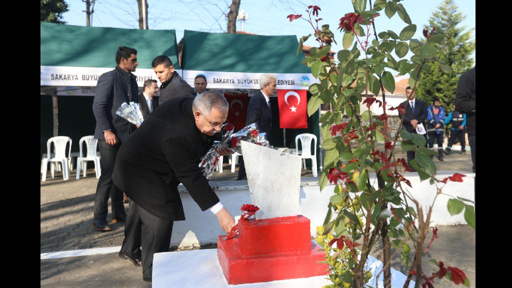 18 Mart Şehitleri Anma Günü'nde Tören Yapıldı