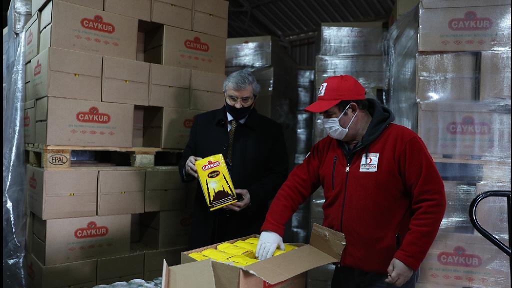 İş Birliği İle 25 Bin Gıda Yardım Kolisi Dağıtılacak