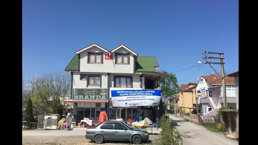 Şeker Mahallesi'ne Bağlı Mete Sokak Karantinaya Alındı