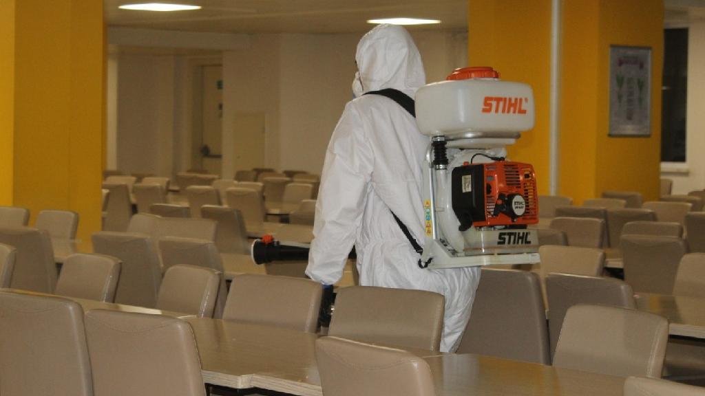 Sakarya'da Dezenfekte İşlemleri Tüm Hızıyla Devam Ediyor