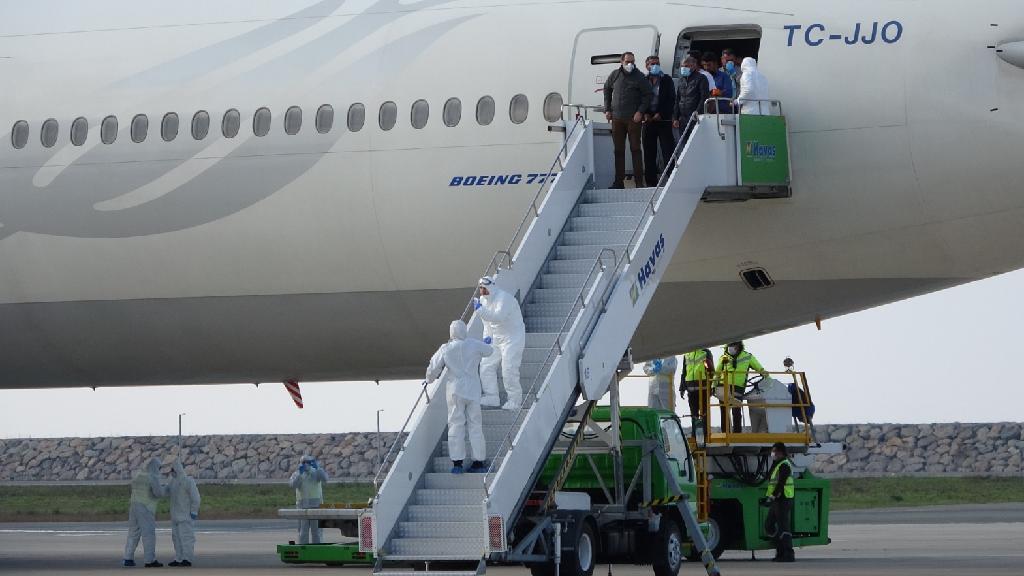 Kuveyt'ten Getirilen İşçiler Giresun'da Karantinada