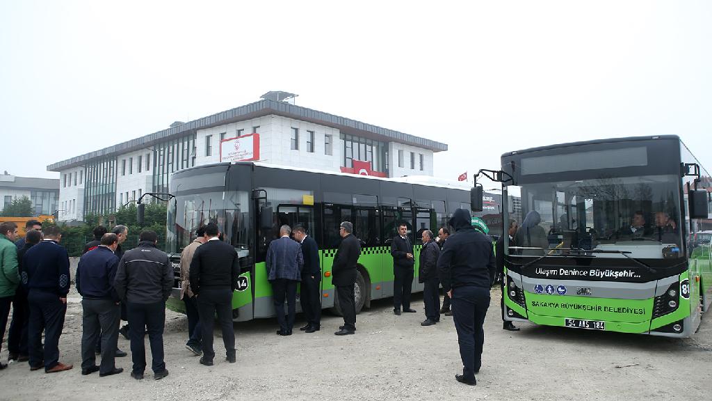 Otobüs filoları daha etkin ve verimli kullanılacak