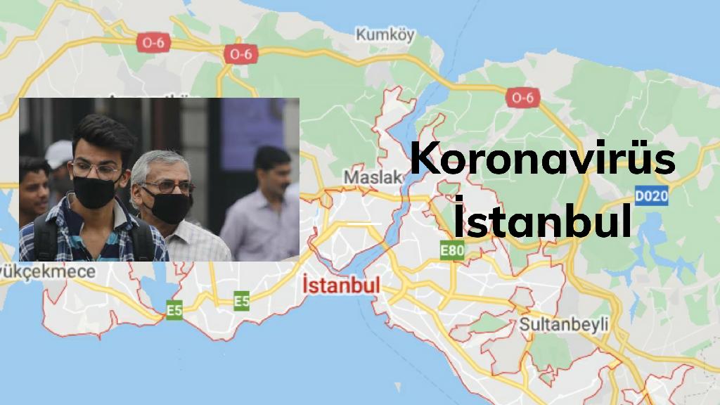 İstanbul'da En Çok Koronavirüs Vakası Görülen 3 İlçe