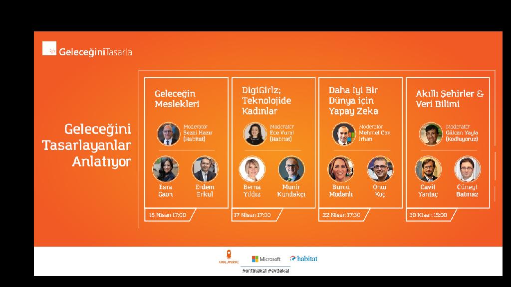 Microsoft Yöneticilerinin Web Konferansları Başlıyor