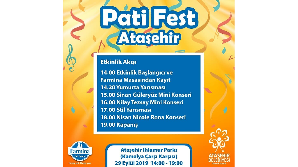 Farmina Ataşehir Pati Festivali