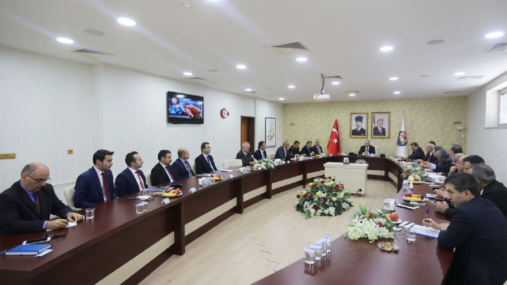 Vali Nayir Korona Virüs Toplantısına Başkanlık Etti