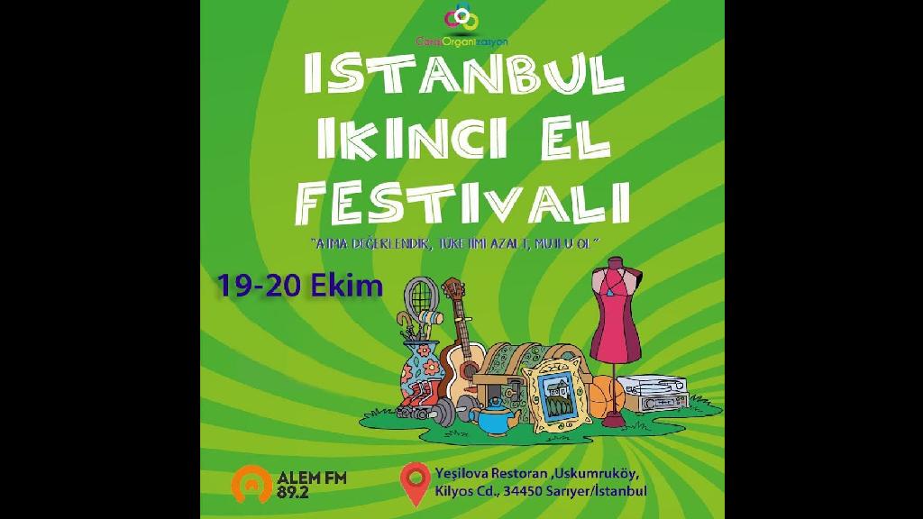 19 Ekim 2019 İstanbul İkinci El Festivali