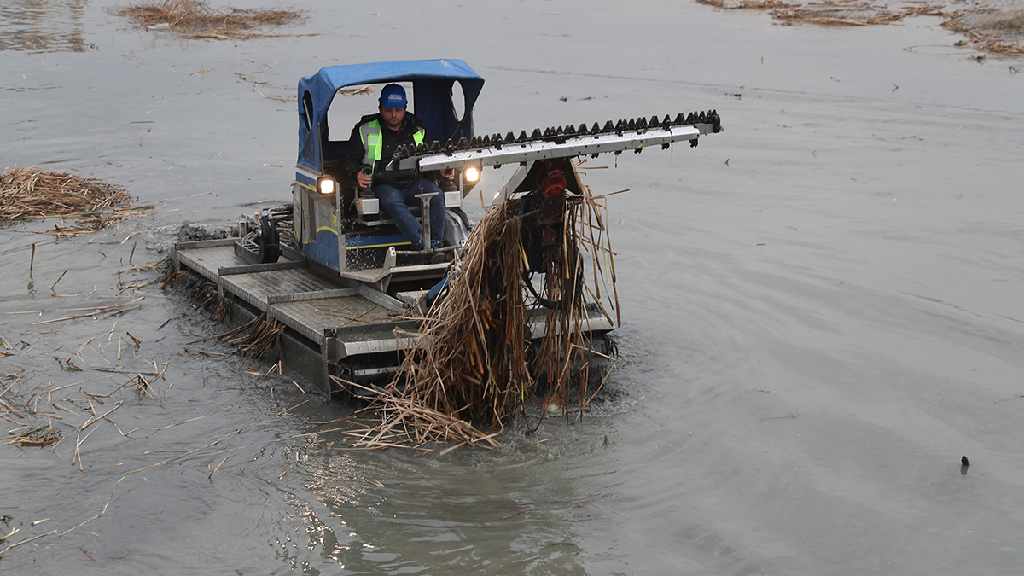 Sakarya Nehri Temizlik Çalışmaları