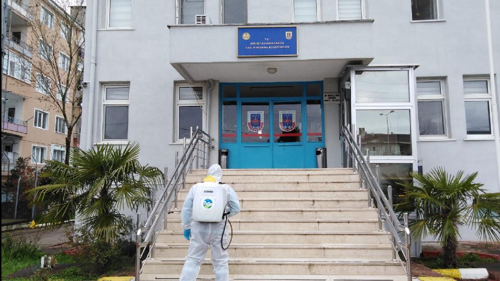 Sakarya'da 16 İlçede Dezenfekte Çalışmaları Sürüyor