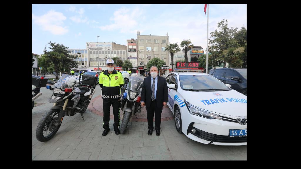 Vali Nayir Trafik Haftası Etkinliğine Katıldı