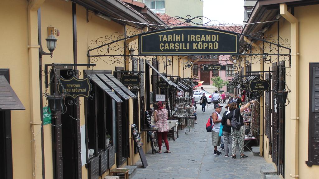 Bursa Irgandı Köprüsü ve Eski Çarşı