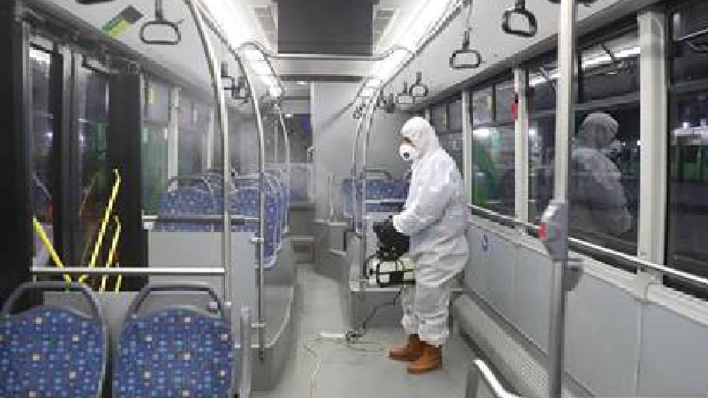Sakarya'da Belediye Otobüslerine Koronavirüs Önlemi