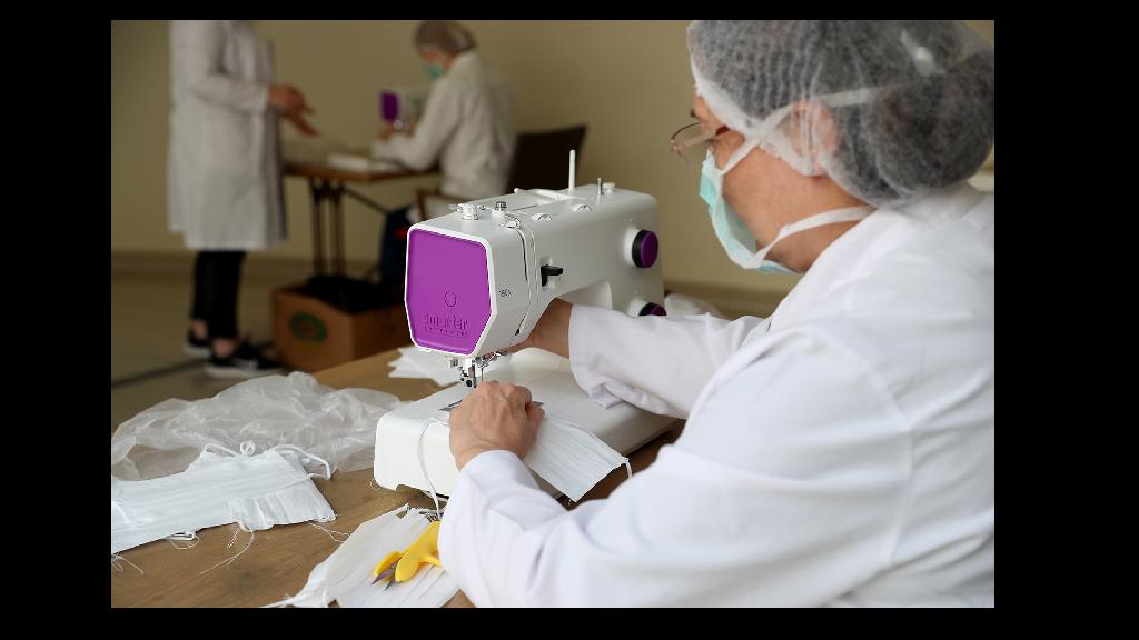 Sakarya'da Maske Üretimi Başladı