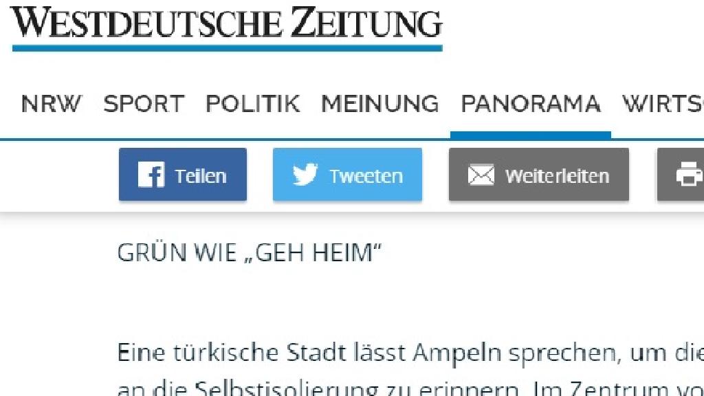 Alman Haber Ajansı Sakarya'yı Örnek Gösterdi