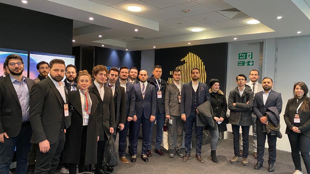 Genç Müsiad Girişimcileri Londra'da Yatırımcılarla Buluştu